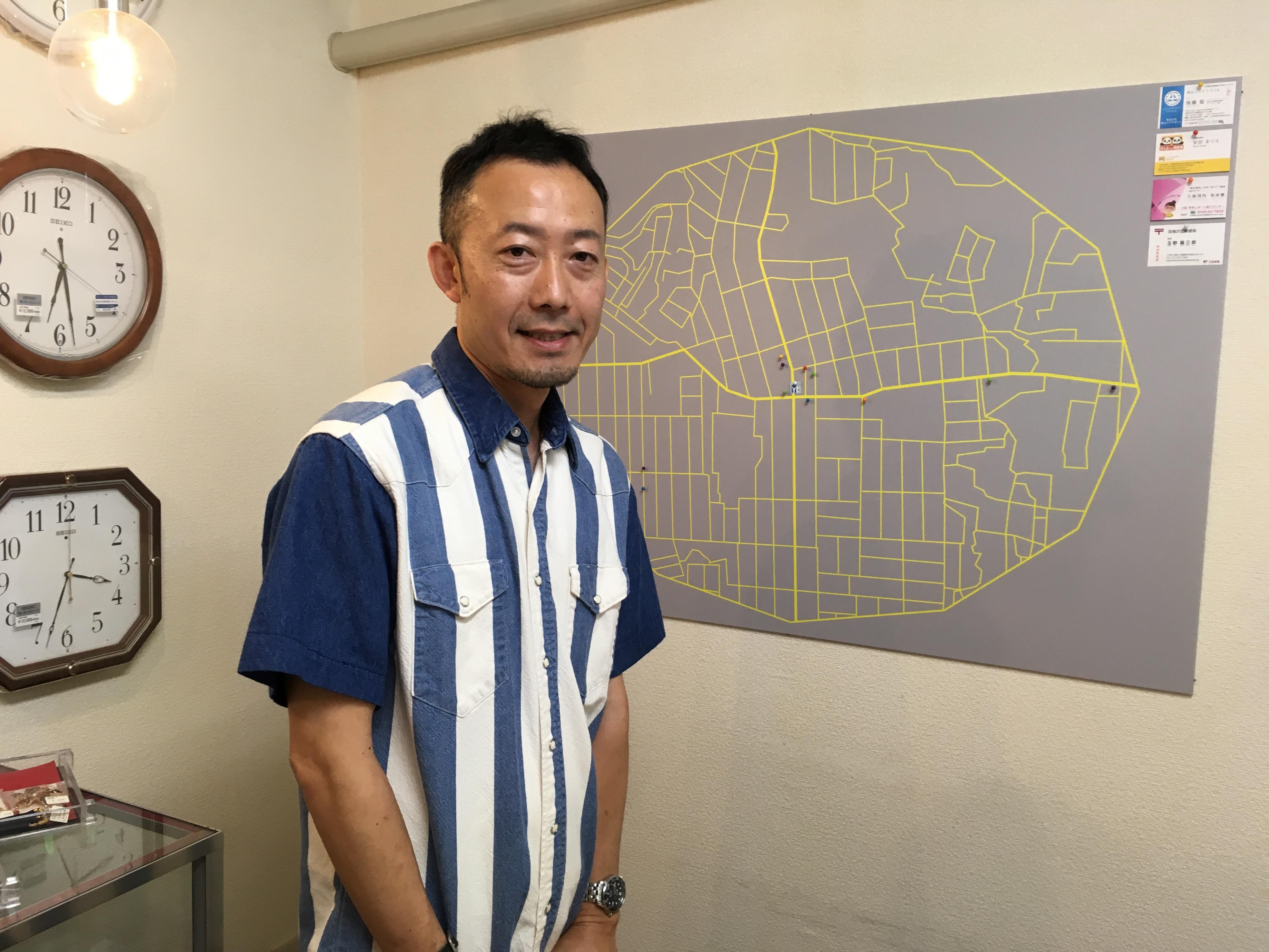 山下さんと社会資源マップ