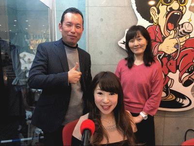佐田麻美さんと吉川美津子さんと川畑誠志さん