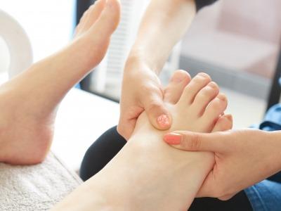 足のケアのイメージ